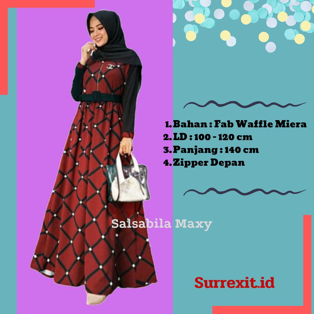 Baju Hijab Syari Terbaru Gamis Muslimah Untuk Pesta ...